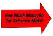 how much car salesmen earn