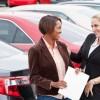 Car Saleswoman Marketing