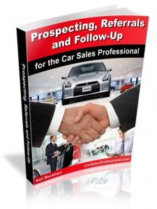 Car Sales Prospecting Ideas