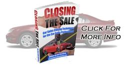 Car Sales Closing Techniques