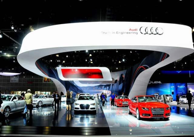 LA Auto Show Audi