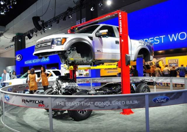 LA Auto Show Ford Truck Display