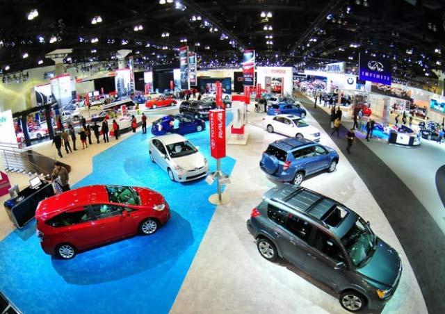 LA Auto Show Toyota Display
