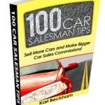 100 Car Sales Tips