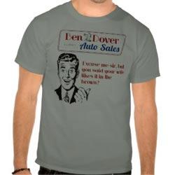Car Salesman Shirts