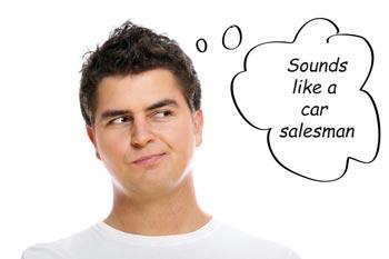 car salesman should know
