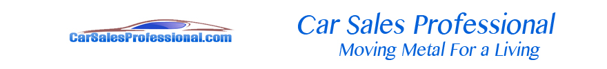 Car Sales Professional for the Car Salesman