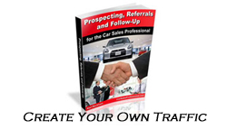 Car Sales Propecting, Referrals and Prospecting Book
