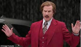 Ron Burgundy Car Salesman