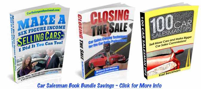 Car Salesmen Book Bundle