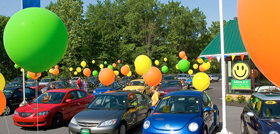 Selling Cars and Balloons