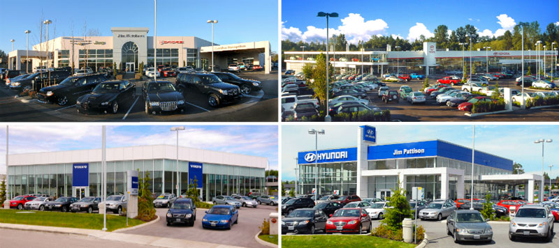 right car dealership selection